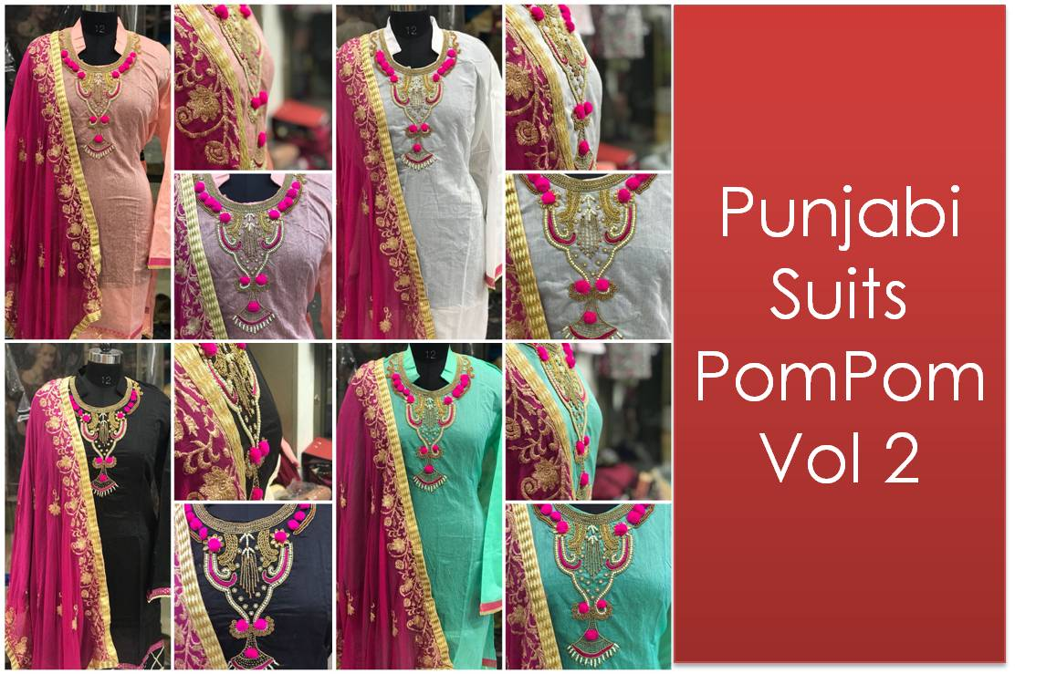 Punjabi Suits PomPom Vol 2