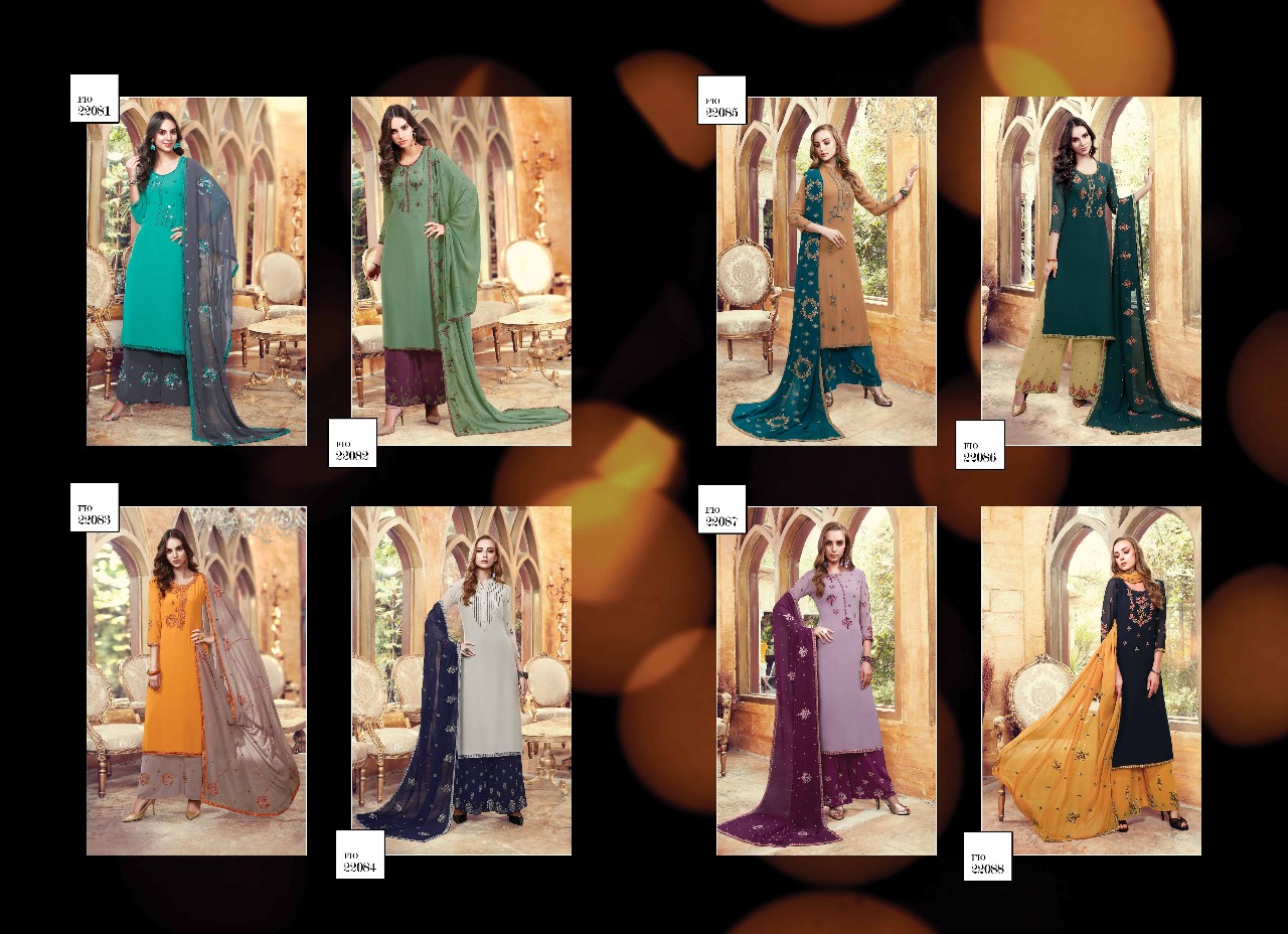 Shop Sharara Suits Fiona Suhana Online