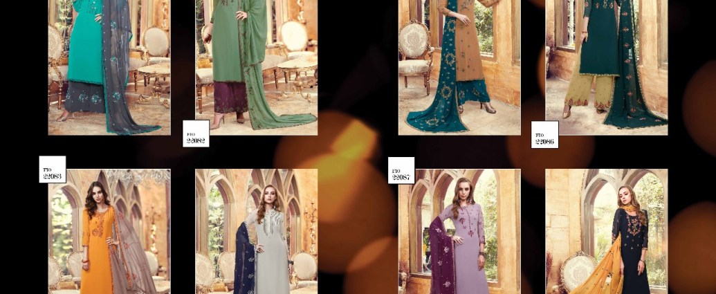 Sharara Suits Fiona Suhana