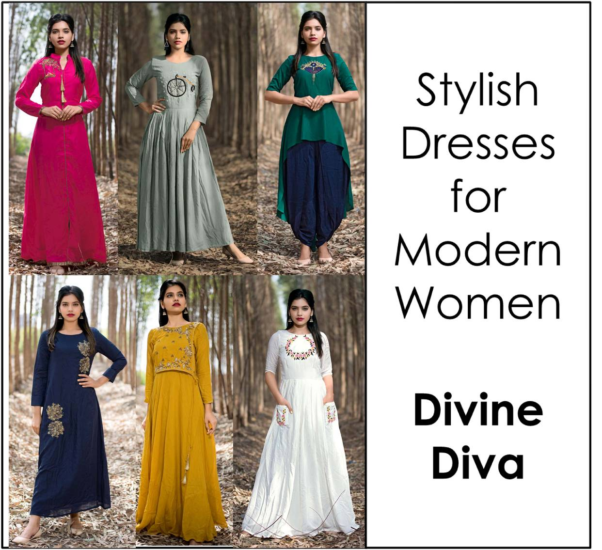 Stylish Dresses Divine Diva