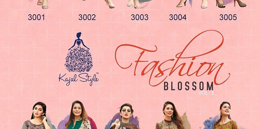 Shop Indo Western Kajal StyleKurtis Fashion Blossom Vol 3 Online