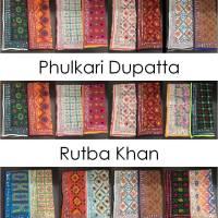 Shop Phulkari Dupatta Rutba Khan Online