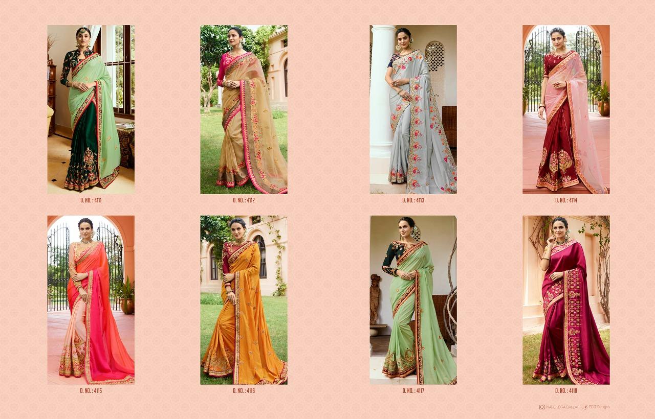 Shop Designer Sarees Ardhangini Srushti Vol 1 Online