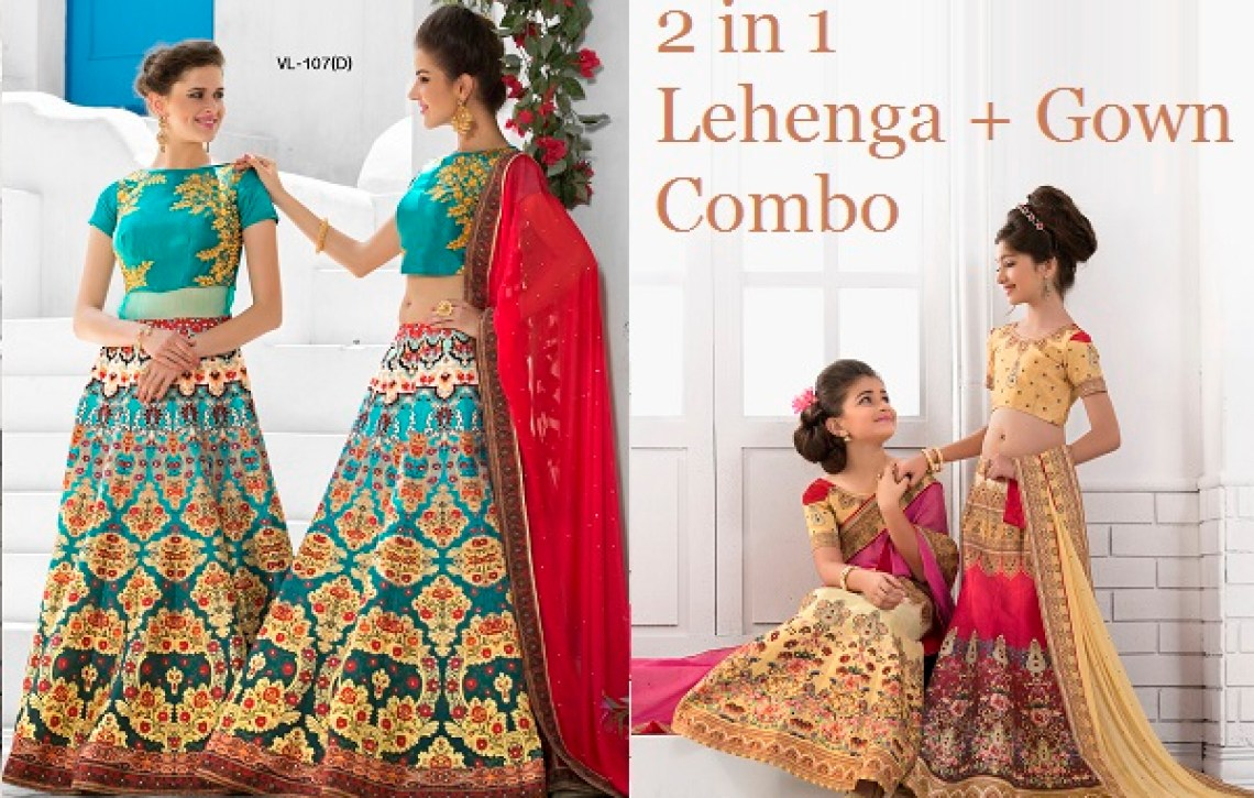 Mother and Daughter Dresses Outfit TUCUTE Vol 18