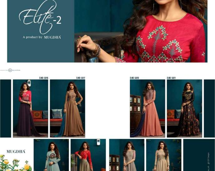 Anarkali Gown Mugdha Elite 2
