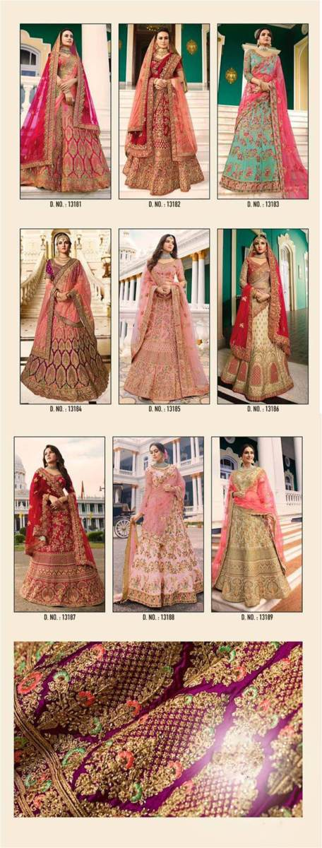 Shop Bridal Lehenga Choli Virasat Vol 15 Online
