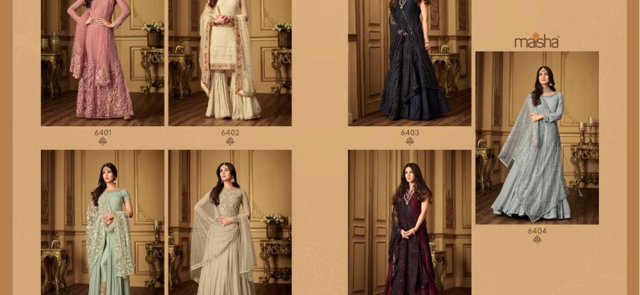 Indian Salwar Suits Maisha Rumani