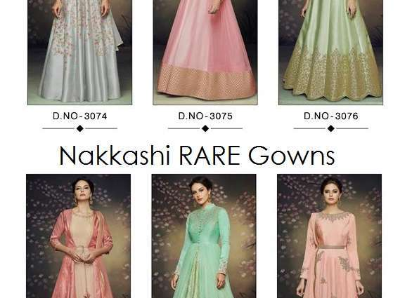 Anarkali Gown Nakkashi RARE