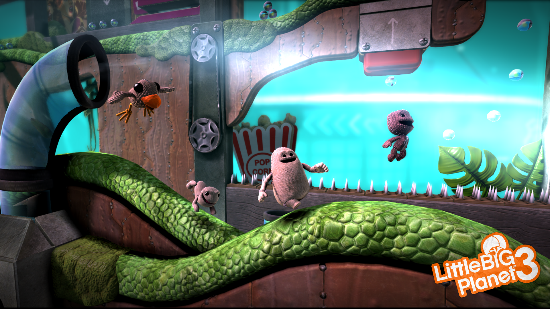 Sackboy's New Friends... Or Enemies Depending On How You Play.