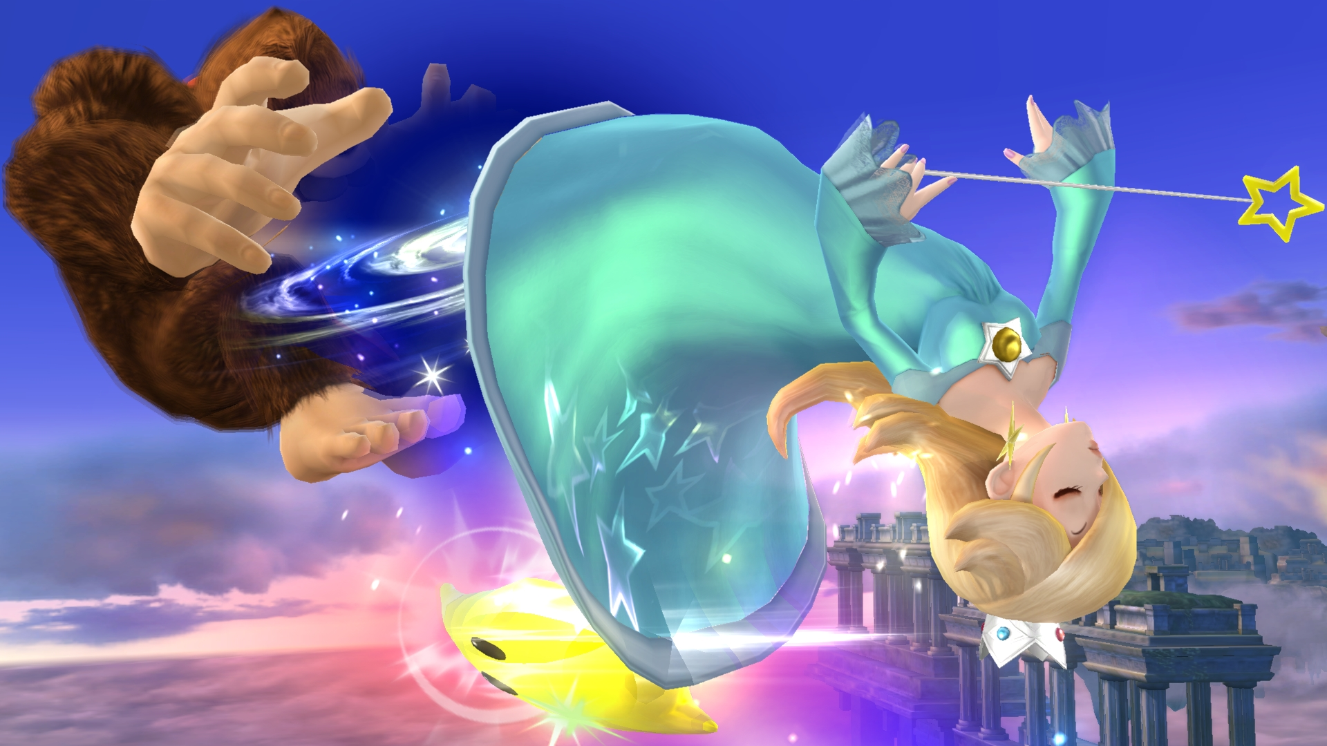 Rosalina Can Apparently Summon Whole Galaxies From Her V*****...