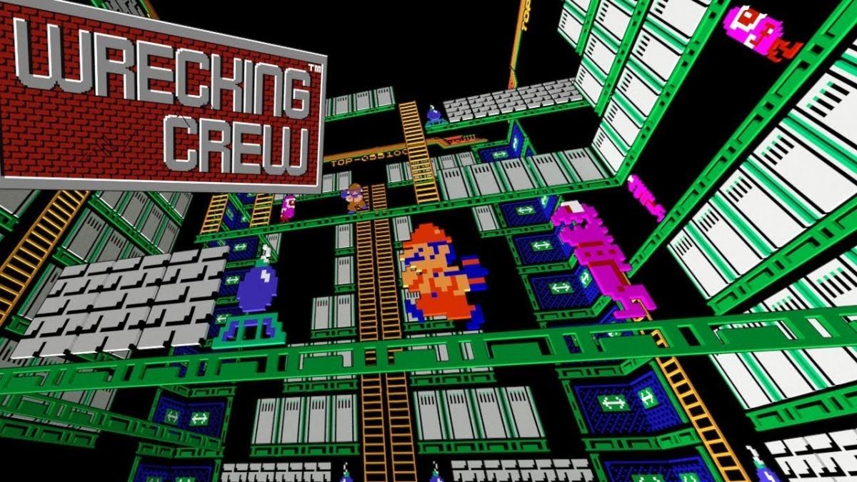 Wrecking Crew Black Box NES Game James Amp Mike Mondays