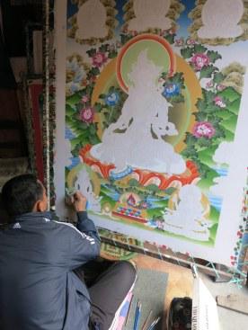 Master Thangka painter