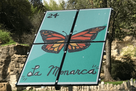 LAGI, solar, Texas, San Antonio, Cruz Ortiz, renewable, solar panel, Monarch, butterfly, La Monarca
