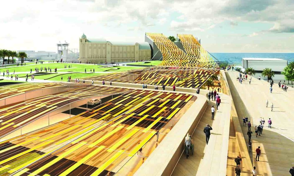 LAGI, Land Art Generator, Melbourne, architecture, NH Architecture, solar, PV, renewable