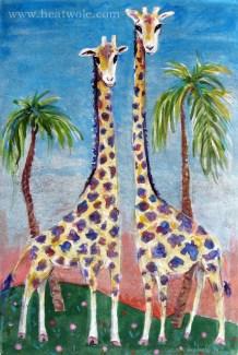 Marsha Heatwole Giraffe buddies