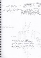 Sketchbooks -part2- as a constant state of mistake making, incompleteness and potential.