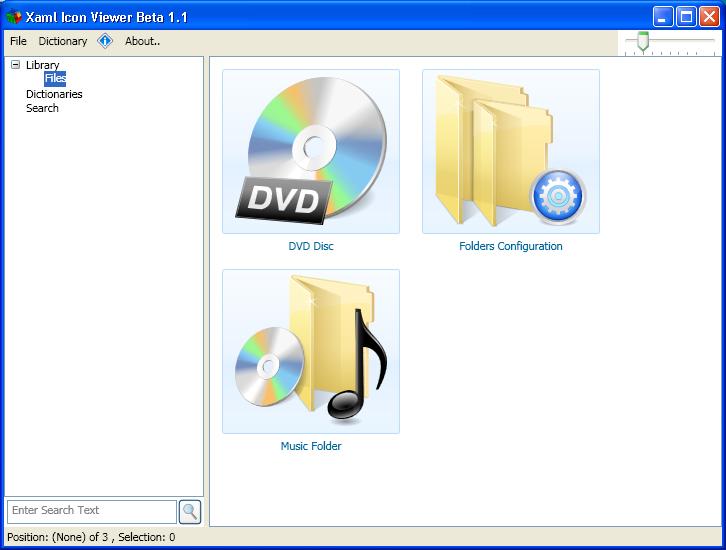 Custom XAML Icon design