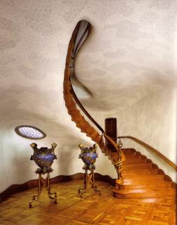 laberynthial stairway