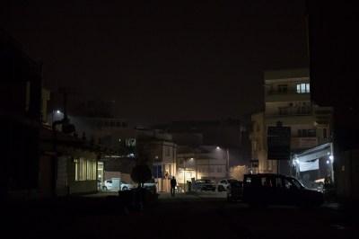 Gaziantep at night, by Mieke Strand