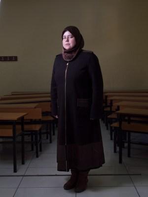 Teacher at the Friendship School in Gaziantep, Turkey, by David Gross