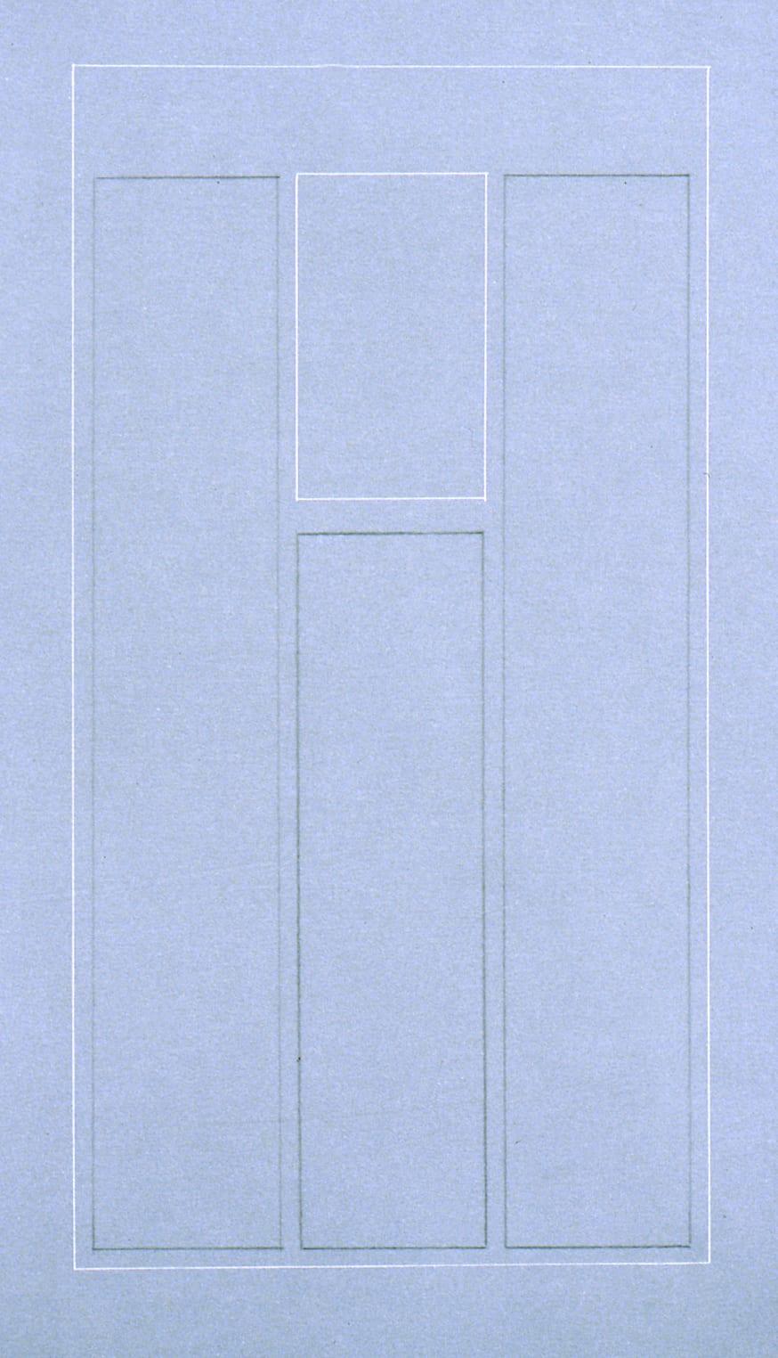 Karen L. Schiff, Agnes Martin, El País, 21 December 2004, II, 2005, graphite and stylus on vellum, 17 x 12 inches (artwork © Karen L. Schiff)