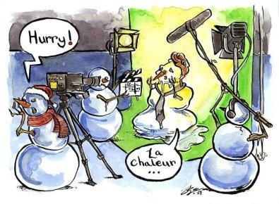 Snowmen Filming Interview