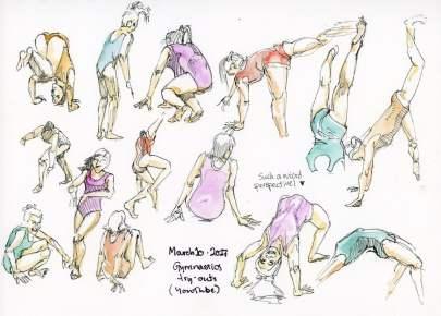 One Week 100 People Day 5: Gymnasts