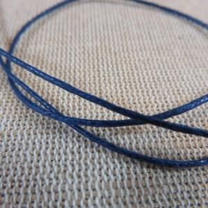 Fil cordon bleu foncé 1mm – vente par 10 mètres