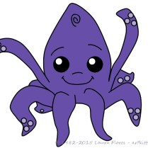 Lil Inky the Kraken
