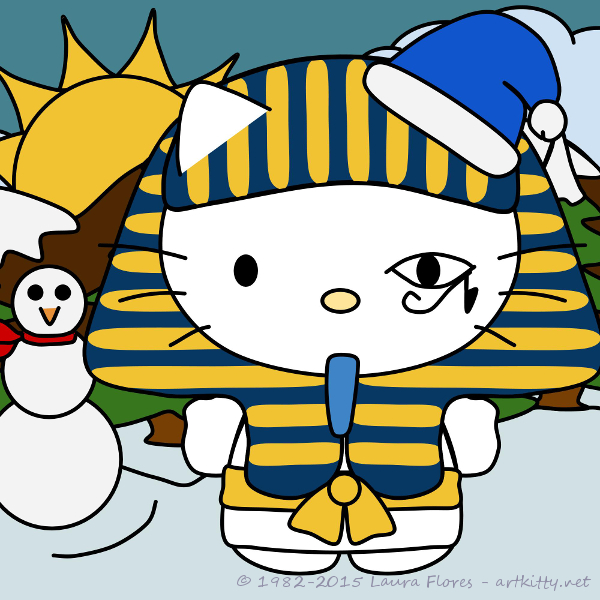 Pharaoh Hello Kitty - Holidays