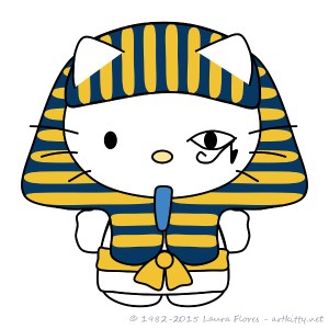 Pharaoh Hello Kitty