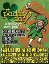 Flyer - The Fun Police St Paddys