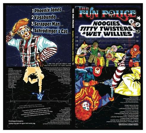 Packaging - The Fun Police EP Album Art