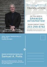 Postcard - Small World Translations