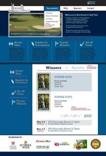 Web Design - Jr Golf Tour