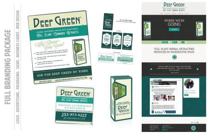 Branding - Deep Green Biz Collateral