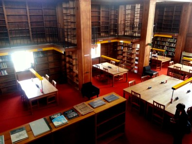 Visiting the CU Land Economy library