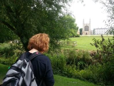 BA Zanditon walks Cambridge