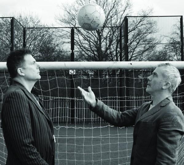 Tom Hackett and Julian Woodcock