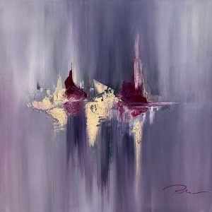 abstract painting by indie ru