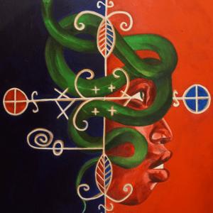 Haitian Art Print