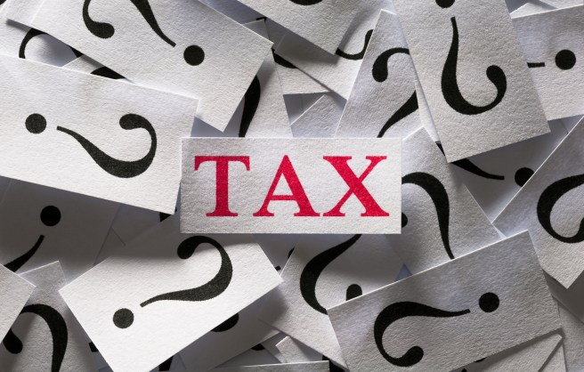 Question about the Tax , too many question marks