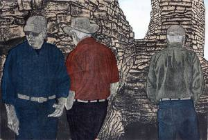 "Linda Lee Boyd ""Anasazi Ruins"""