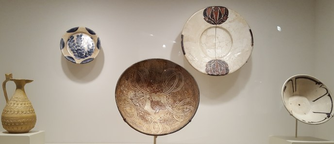 L-R: 8th C Iran, 9th C Iraq; 10th-12th C Iran or Samarkand; 10th-11th C Iran (Nishapur) or Samarkand