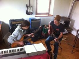 Julian & Thomas beim Lernen