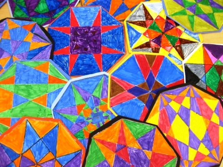 Geometric Designs In Grade Five ART LESSONS FOR KIDS