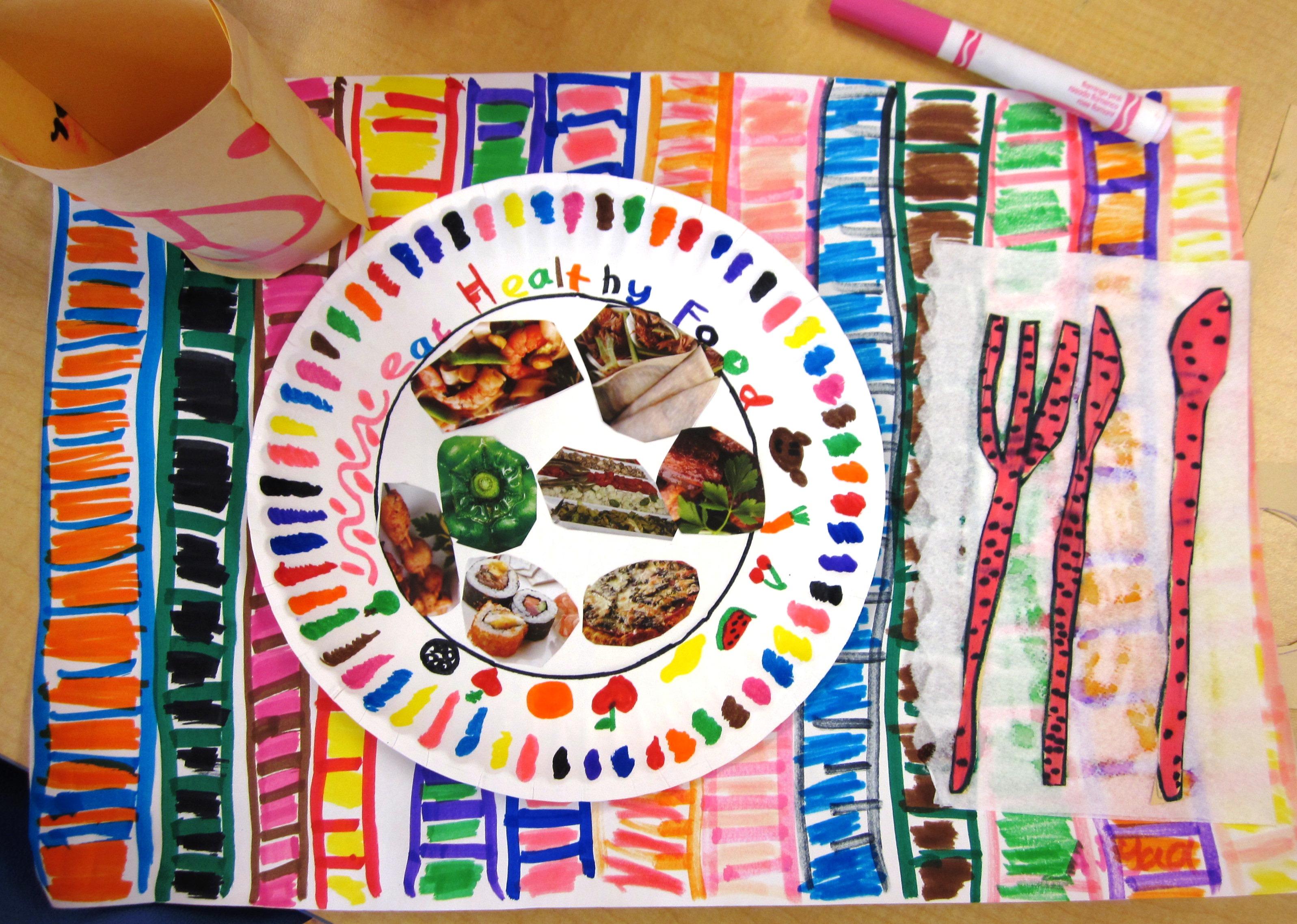 Paper Plate Art Lesson
