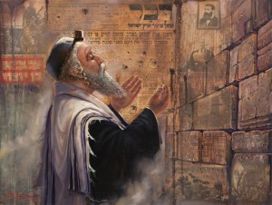 Herzl's Dream, Painting by Alex Levin