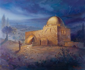 Kever Rachel, Painting by Alex Levin