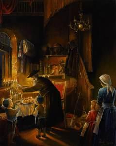 Alex Levin - Magnificent light of Menorah